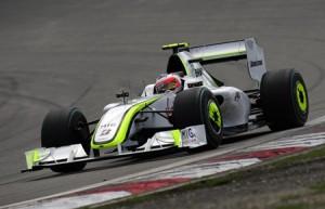 Brawn GP's Brazilian driver Rubens Barri