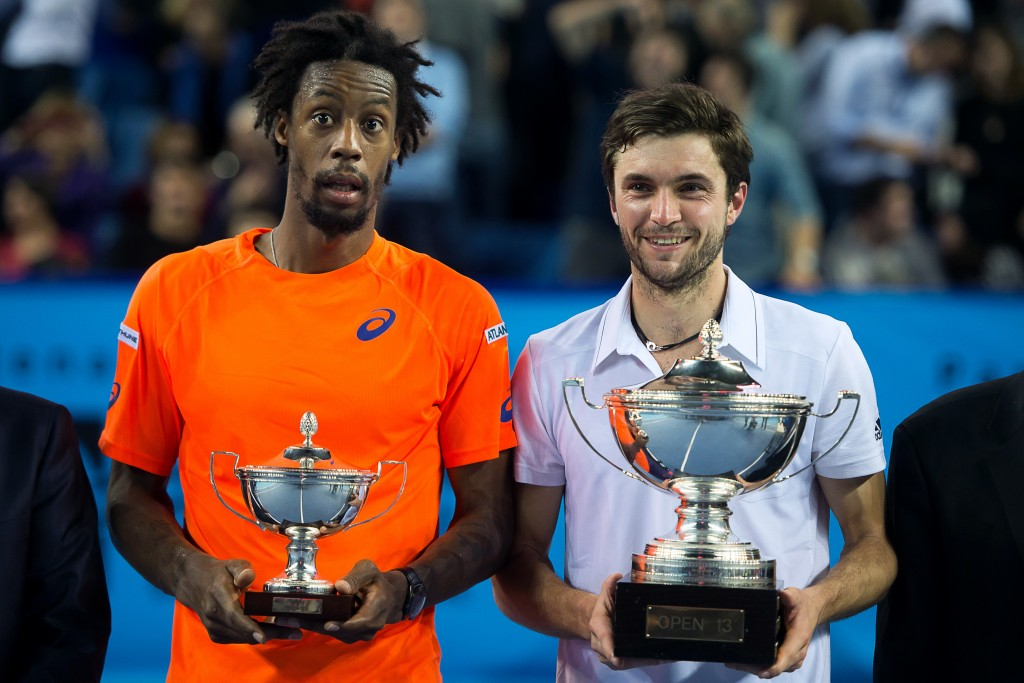 gilles-simon-with-gael-monfils-showing-trophies-for-atp-marseille-open-13-images-2015